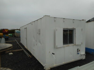 32' x 10' anti vandal office canteen 2 + 1 toilet portable building £4000 + VAT