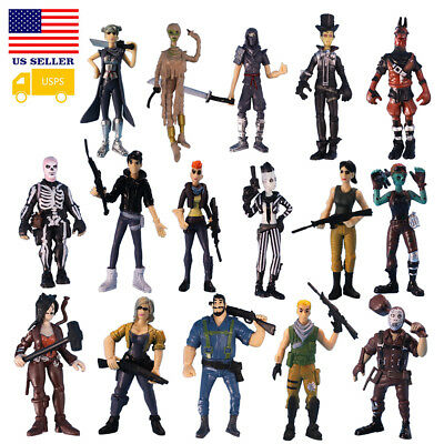 16Pcs Fortnite Skull Character Toy Game Action Figure Model Xmax Gift Collection