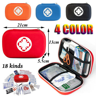 Home First Aid Medical Emergency Kit Carry Bag Pouch Camping/Car/Holiday/Travel