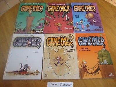 Lot ** 6 Bd Game Over  1 2 3 4 5 6 Eo ** Kidpaddle Midam Adam Dupuis
