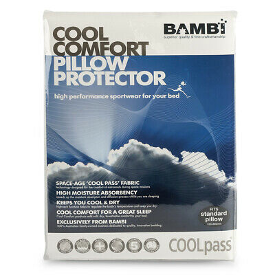 NEW Bambi Cool Comfort Pillow Protector
