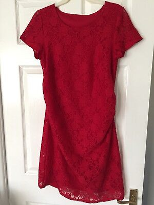 Red Maternity Dress 12