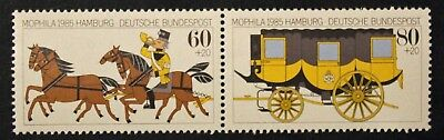 Timbre ALLEMAGNE RFA - Yvert et Tellier n°1087 et 1088 n** MNH (Cyn30)