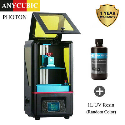 "EU STOCK Stampante 3D ANYCUBIC SLA LCD Photon Resin 2.8 ""Touch Screen +1L Resina"