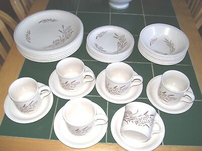 John Tams Bouquet 30 Piece Dinner Service -  New And Unused