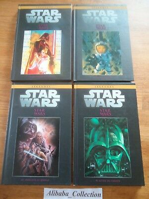 Lot ** 4 Bd Comics Star Wars Legendes 54 55 56 57 Hachette **