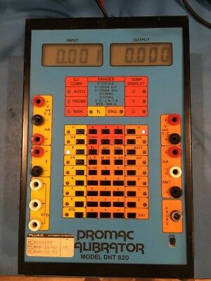 Vintage Promac Calibrator DHT-820 (For parts)