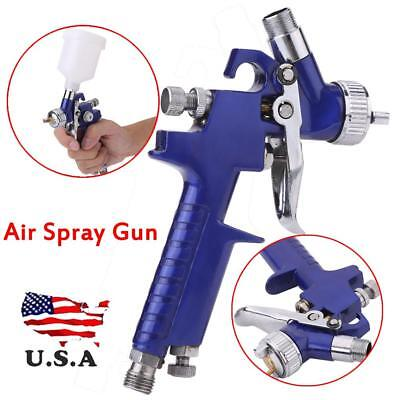 Mini Air Spray Gun HVLP 1.0MM Auto Car Detail Touch Up Paint Sprayer Spot Repair