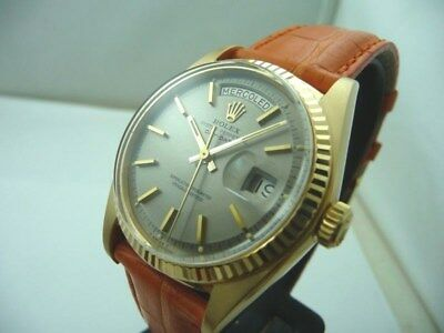 ROLEX DAY DATE OYSTER VINTAGE REF 1803 RARE DIAL - 1973 ! Box & BOOKLET