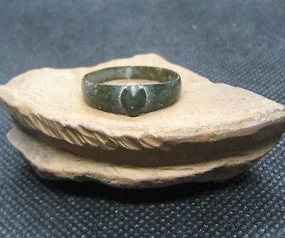 Ancient bronze ring 18-19 AD