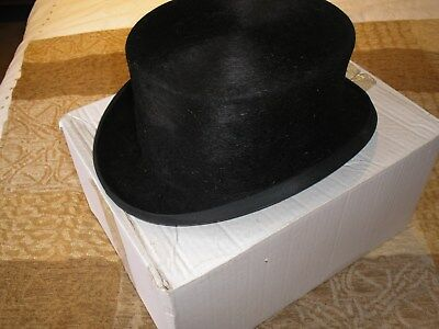 CHRISTY LADIES SILK Dressage Top Hat Size 7 9924be6734a