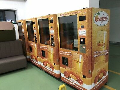 ORANFRESH Orange Juice Vending Machine