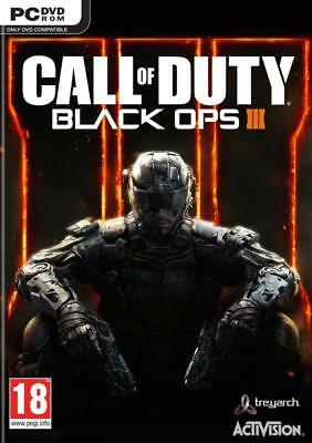Call of Duty Black Ops 3 PC Neuf sous Blister