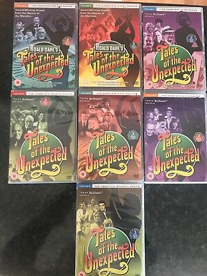 Tales Of The Unexpected Roald Dahl Dvd Series 1-7