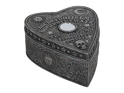 Nemesis Now Spirit Ouija Board Trinket Box Occult Witch Moon Sun Skull Gift