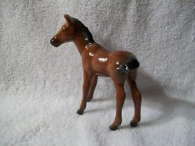 Porcelain Ceramic Pottery Horse Foal Colt statue Figurine china Japan ?  GIFT!