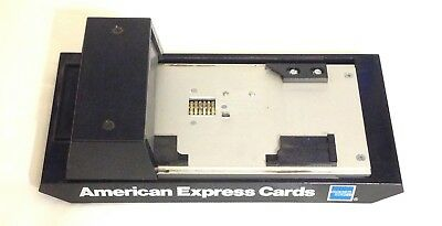 Vintage Bartizan CM1016AX Manual Credit Card Imprinter American Express Branded