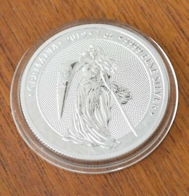 Germania 2019 5 Mark Germania 1 Oz 9999 Silver New Release