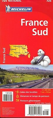 Michelin Highway Map of Southern France