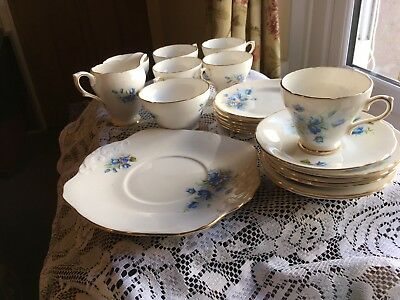 Royal Sutherland Bone China Tea Set
