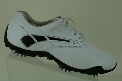 Footjoy Women s LoPro Collection Ladies White Golf Shoes 97239 Size ... 18b40ffaac2