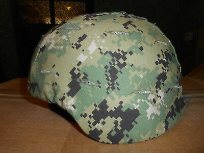 Advanced Combat Helmet (ACH), MEDIUM,H-Harness,cover & pads,NSN:8470-01-506-6369