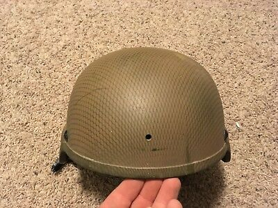 MSA Advanced Combat Helmet, TC 2000, Large, Tan, New Pads, 1 NVG Hole