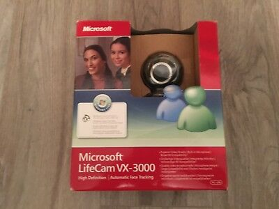 Mircosoft Lifecam VX-3000 High Definition/Automatic Face Tracking