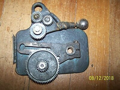 "Model 109 Dunlap/Craftsman 6"" Metal Lathe Gear Assembly"