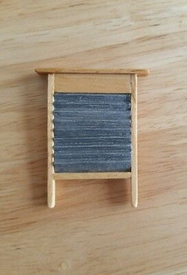 Dolls House Miniature Wooden Washboard 1.12 Scale