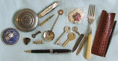 Bundle of VINTAGE & Modern Miscellaneous Bits & Bobs - Total Weight 238 grams