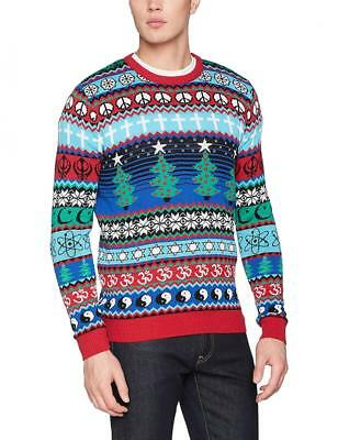 British Christmas Jumpers Multicultural, Pull Homme