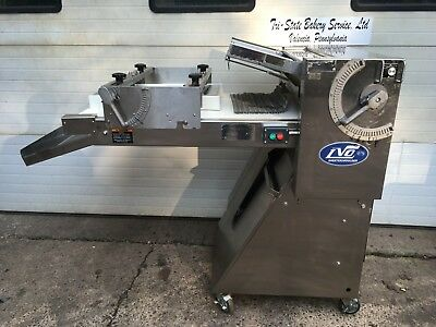 "2012 Lvo Sm24 Bakery Restaurant Equipment 24"" Dough Sheeter Roller Moulder"