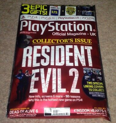 Official PlayStation Magazine UK Resident Evil 2 Collectors Edition New REmake