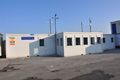 Portable Building 4 Bay Office with reception, kitchen, toilets & meeting room