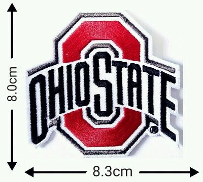 Ohio State Buckeyes SPORT College Patch Logo Embroidery Iron,Sewing on Clothes