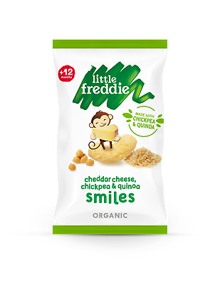 Little Freddie Cheddar Smiles 4x11g (Pack of 5)