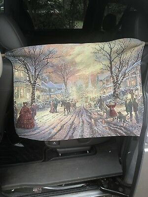 Thomas Kinkade Victorian Christmas Carol Canvas