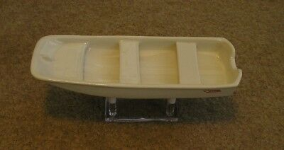 Rare 1St Boston Whaler Factory Issued Model Boat & Stand Great For Christmas
