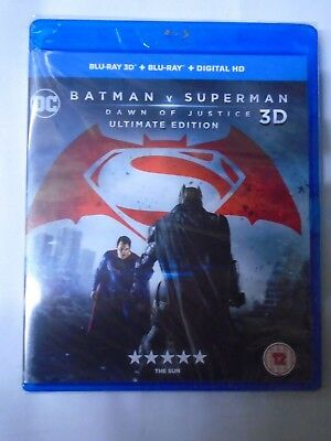 Batman v Superman: Dawn of Justice Ultimate Edition [Blu-ray] New & Sealed F2