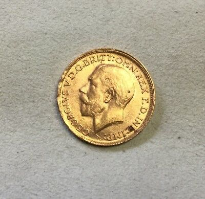 British Gold Sovereign 1912