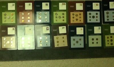 FRANKLIN MINT COIN SETS OF ALL NATIONS (15 sets)