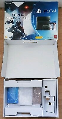 Empty Replacement Box  Playstation 4 Black With Packaging And Manual, Leaflets