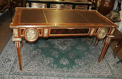 French Empire Desk Bureau Plat Writing Table