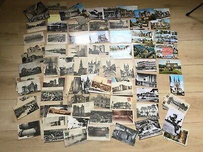 COLLECTION DE 120 CPA MAINE ET LOIRE 49 LOT Villages Vieux Papiers TOP ALBUM
