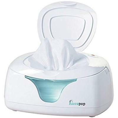 Hiccapop Baby Wipe Warmer White/Blue Holder Wet Wipes