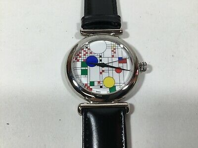 Vintage Frank Lloyd Wright Sterling Silver Watch Art Institute of Chicago NEW