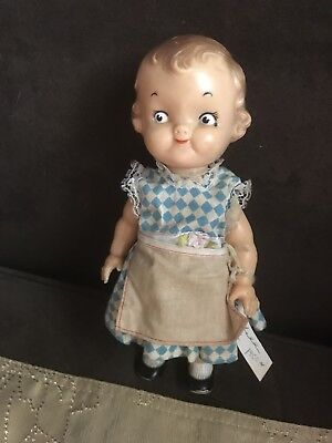 Vintage 1950's Campbells Soup Doll Kids Cute Old