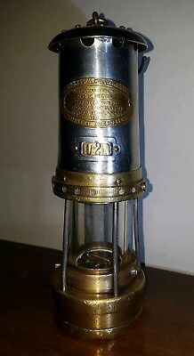 Welsh Miners Lamp No8 Firemans lamp Thomas Williams Aberdare