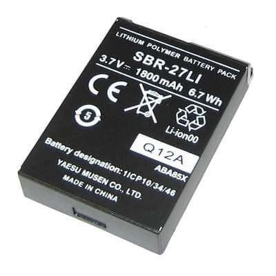 Standard Horizon Replacement Lithium Ion Battery Pack #SBR-27LI
